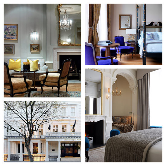 The Kensington Hotel is one of my favourite London stylish hotels...