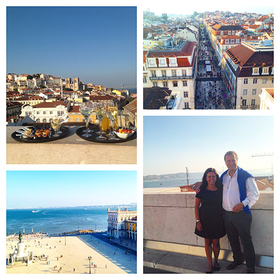 The most stunning views of Lisbon, ever! 360 degrees!