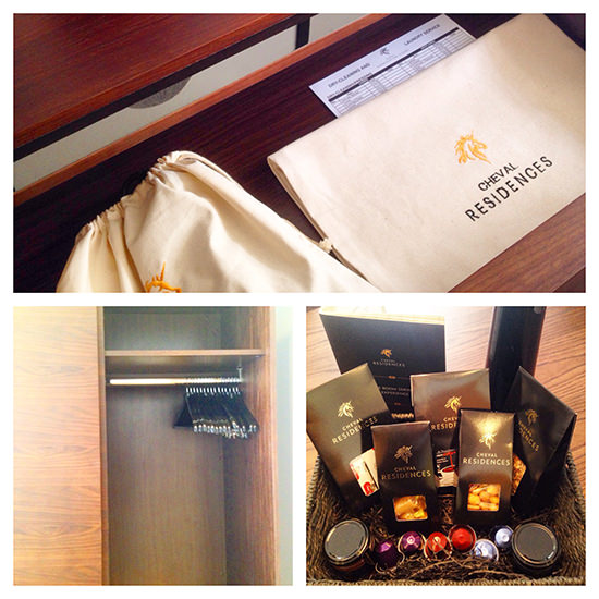 The welcome basket I mentioned earlier, as well as some other in-room details.