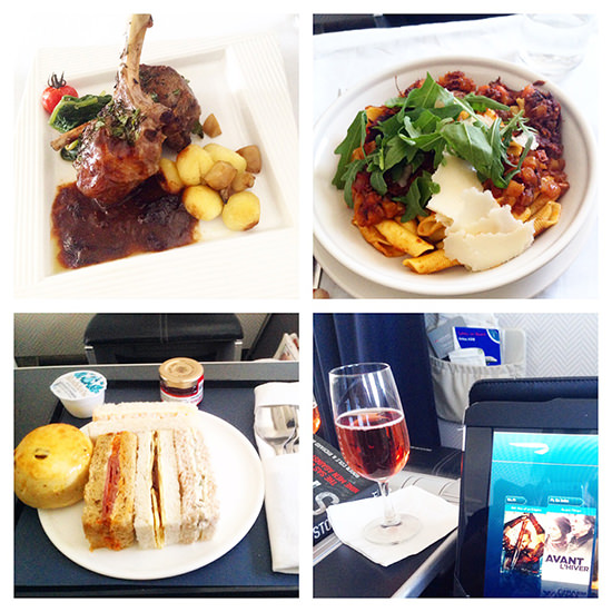 Couldn't fault the food on board.