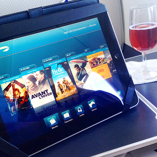 The future of in flight entertainment? Possibly!