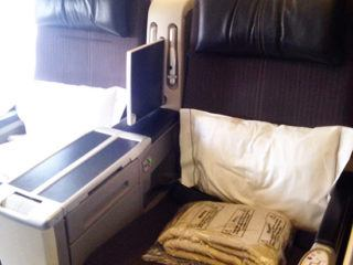 My Flight: British Airways BA1 business class service from London City to JFK