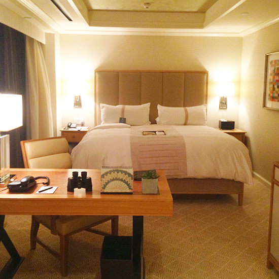 A very spacious and well designed room