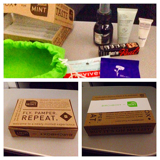 The contents and brands change each month on Birchbox which will make for interesting surprises.
