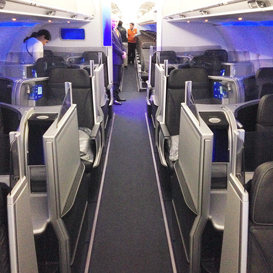 The very smart JetBlue mint cabin