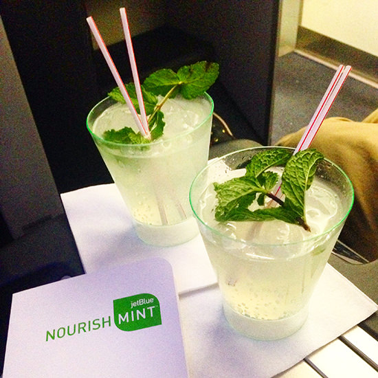 Mint cocktails for me, please.