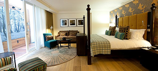 Our stunning room (photo courtesy of the hotel)