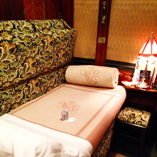 orient express train bedroom
