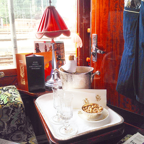 orient express train cabin suite