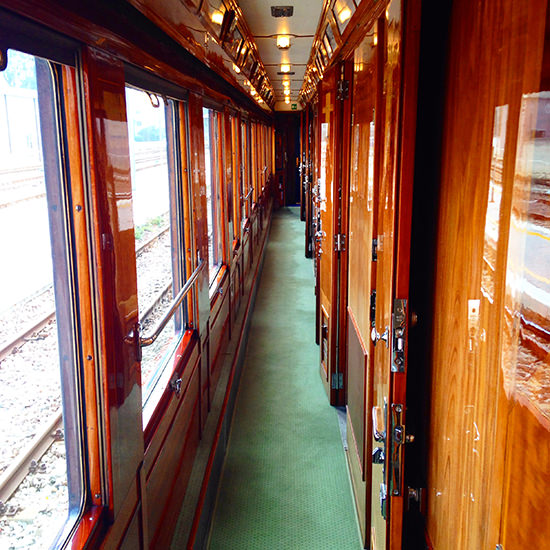 orient express train corridors