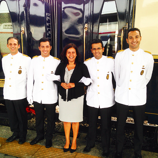 Venice simplon orient express train Venice to London team