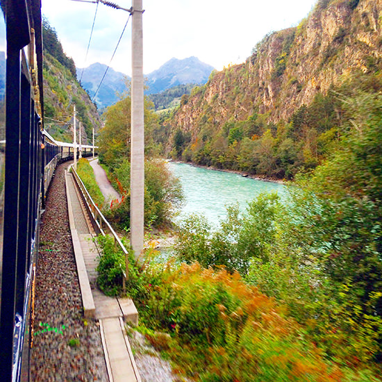 orient express train views