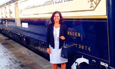 Welcome on-board the most iconic train in the world, the Venice-Simplon Orient Express
