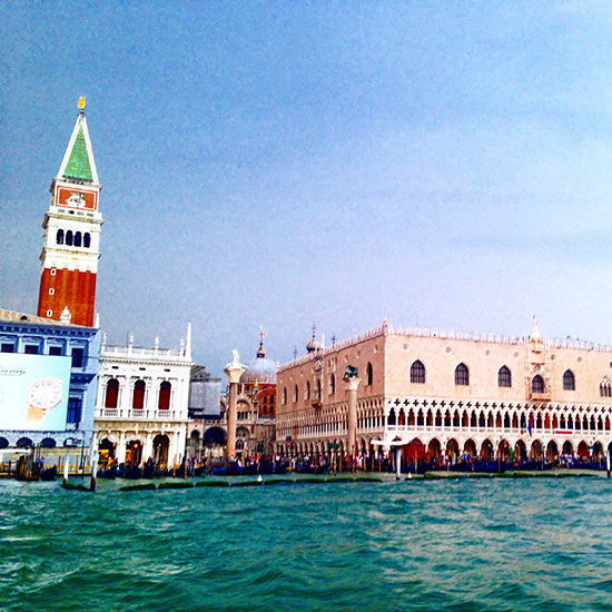 Absolutely stunning views of Venice