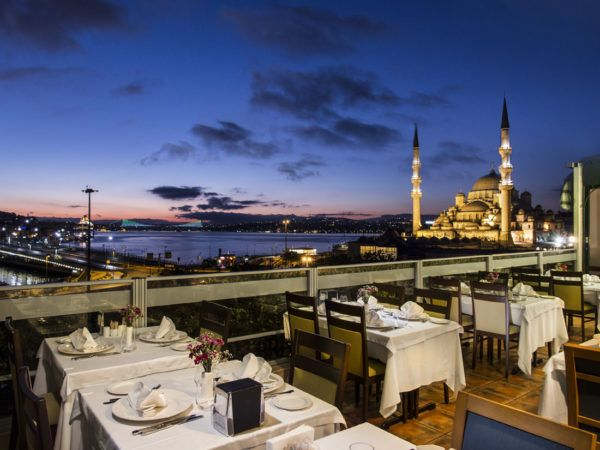 Dinner with a view at Hamdi City Break Istanbul Luxury Istanbul Holidays