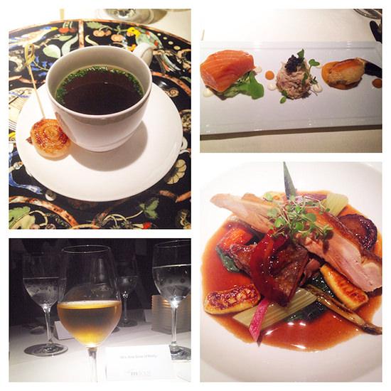 The food at Belmond Le Manoir Aux Quat'Saisons, was delicious, as always