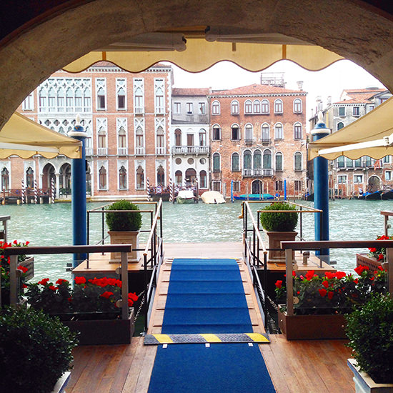 Bye bye Gritti Palace, you were lovely. And smelled even better.
