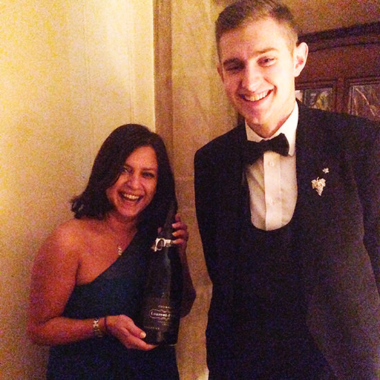 Ooops how did that Magnum of Laurent Perrier got into my hands? Ooops, oops!