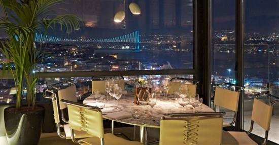 In Istanbul you are spoiled for 'dining with a view' spots. I was sad we could not enjoy the terrace for obvious reasons. Photo by restaurant.In Istanbul you are spoiled for 'dining with a view' spots. I was sad we could not enjoy the terrace for obvious reasons. Photo by restaurant.