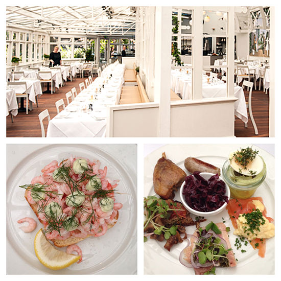 Another fabulous and very pretty meal in Copenhagen