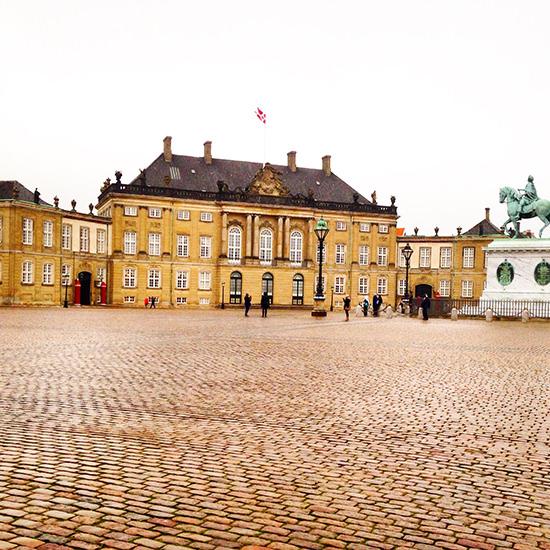 copenhagen city break Amalienborg, the winter home of the Danish Royal Family