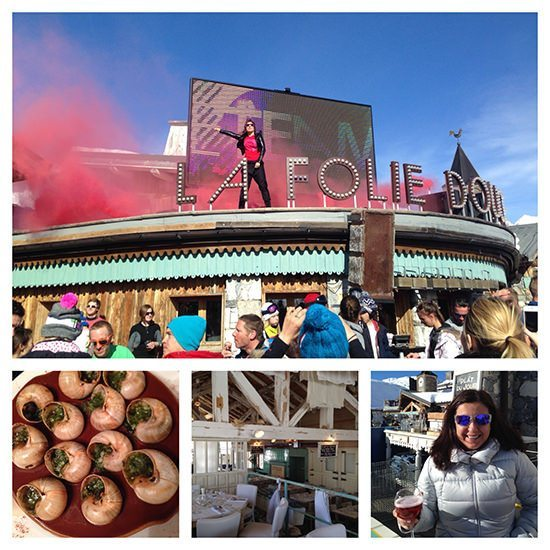 Never a dull moment at La Folie Douce...