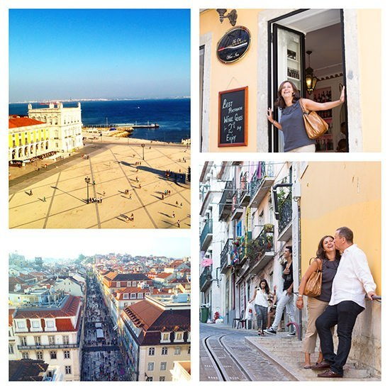 Time for a sunny city break in Lisbon, my hometown. Photos on the right by Flytographer.