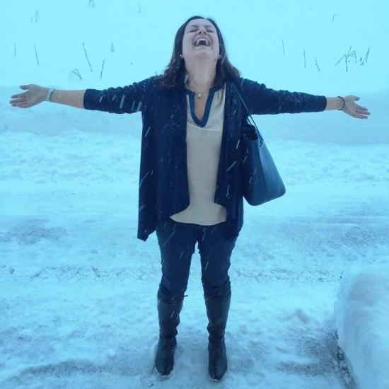 Brrrrrrr, and then it snowed!