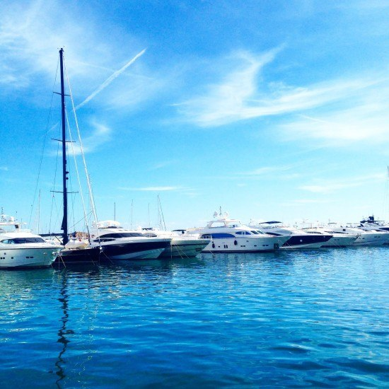 Puerto Portals in Mallorca... one of my favourite places in the island.