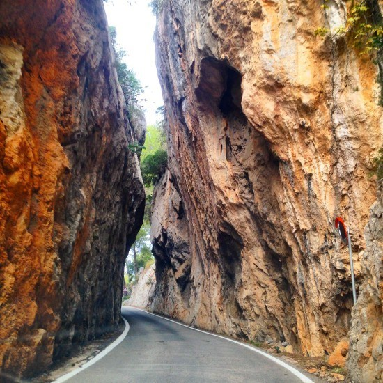 Not your average road, and believe me, this was one of the easier bits...