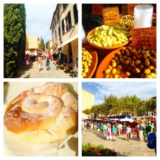 Pollenca was a very nice surprise, and a town we visited a few more times during our stay
