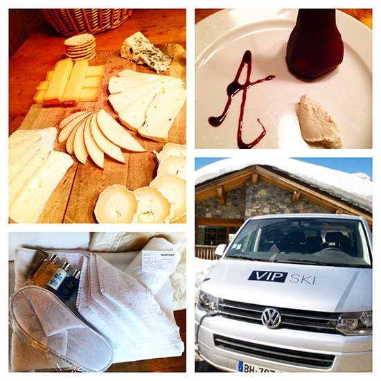 Some desserts and details, and our fab driver service, which always worked brilliantly.