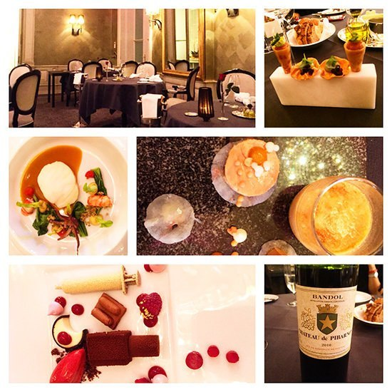 A real fine dining experience at C'a D'Oro, at the Kempinski St Moritz