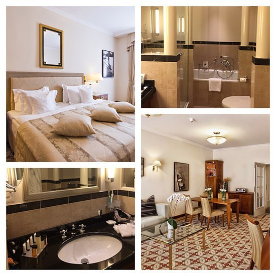The Kempinski St Moritz Spa Suite