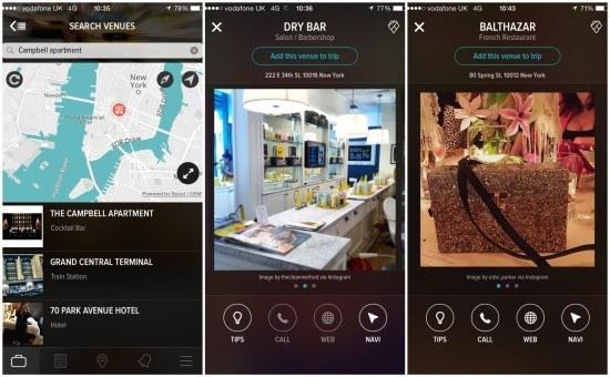 create trips app screen 3