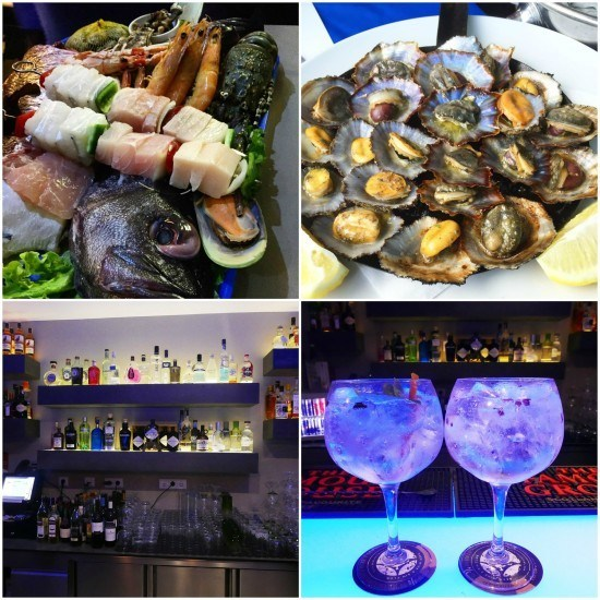 Dinner out in Funchal and a great night out at Santa Maria Gin Club.