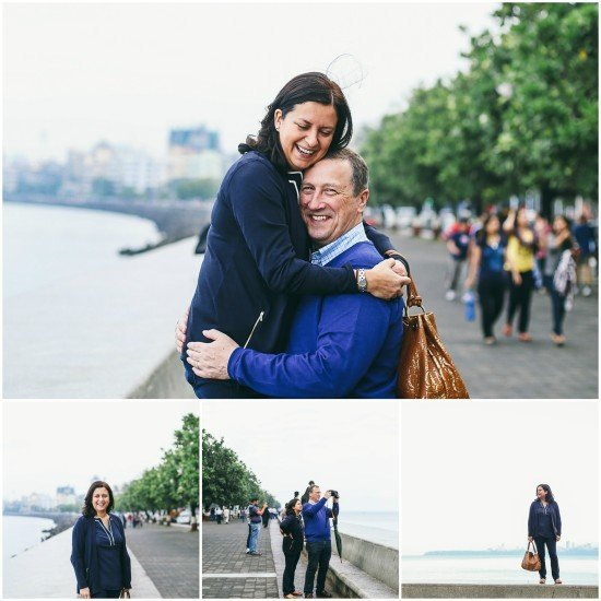 The only photos of *both* of us in Mumbai. How can I travel without Flytographer? I can't, is the answer.