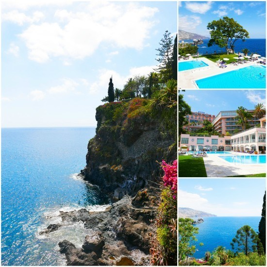 First things first... where was the pool? Incredible views of the Atlantic Ocean at the Belmond Reids Palace.
