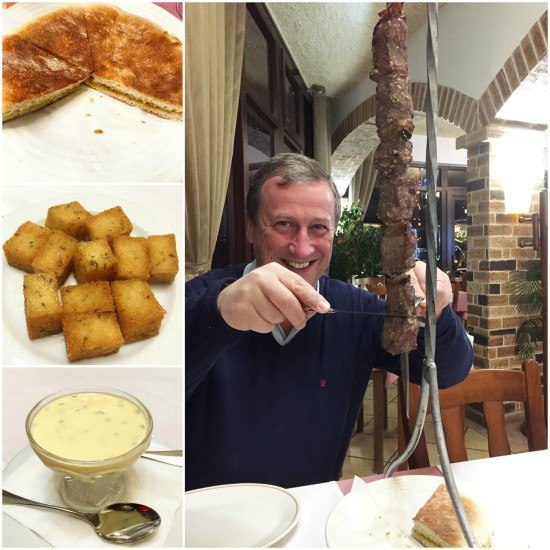 Mr. O was a very happy boy. The food in Madeira overall was exceptional.