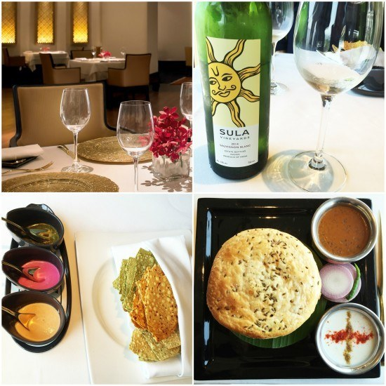 An outstanding meal, and our first taste of Indian wine. Photos taken with Leica V-Lux