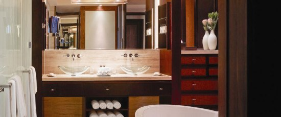 A fabulous bathroom! Photo by hotel.