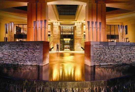 The hotel entrance. Photo by hotel.