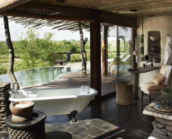 An example of a perfect hotel: Singita Lodge in South Africa.