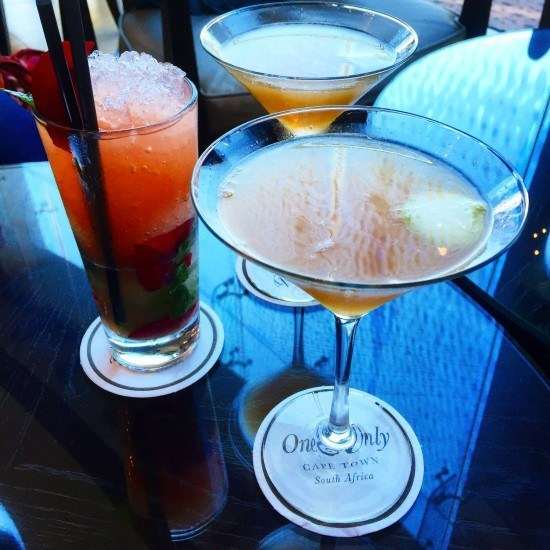 Delicious cocktails at the bar!