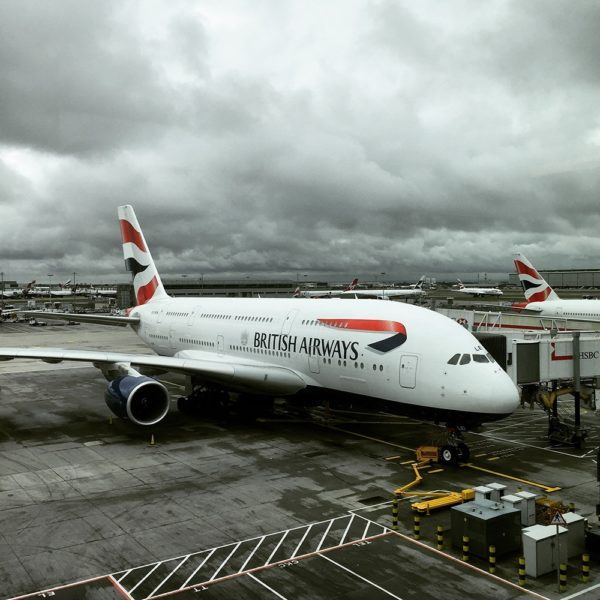 British Airways Business Class BA Club World Review A380