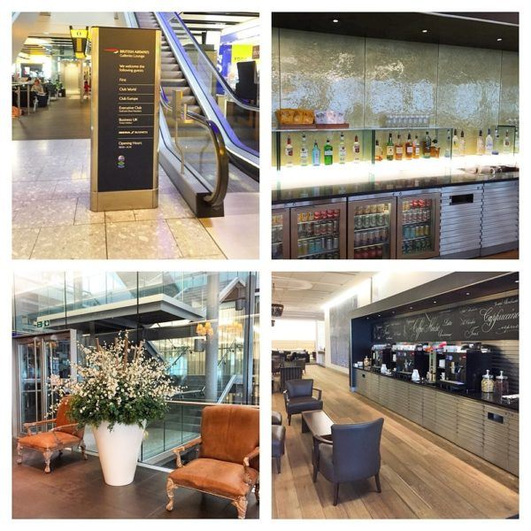 British Airways A380 Business Class Club World Review LHR T5 First Lounge