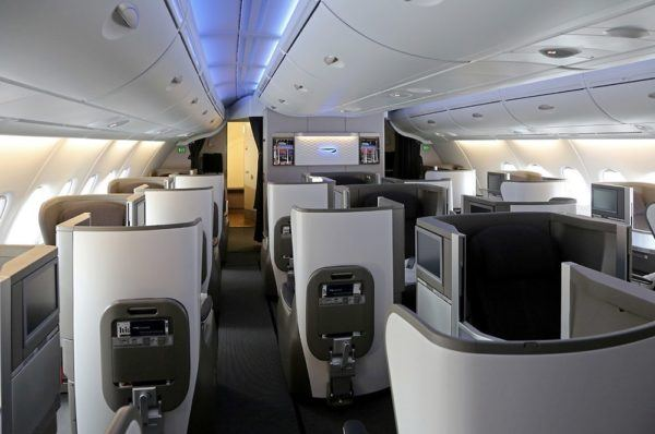 British Airways A380 Business Class Club World Review cabin