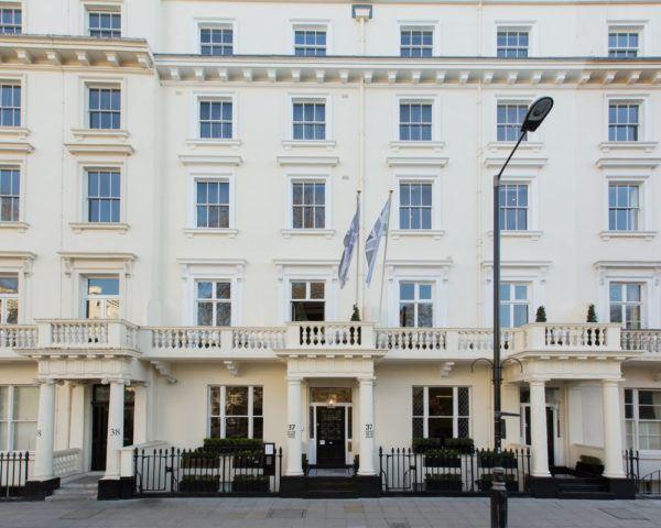 eccleston square hotel london facade