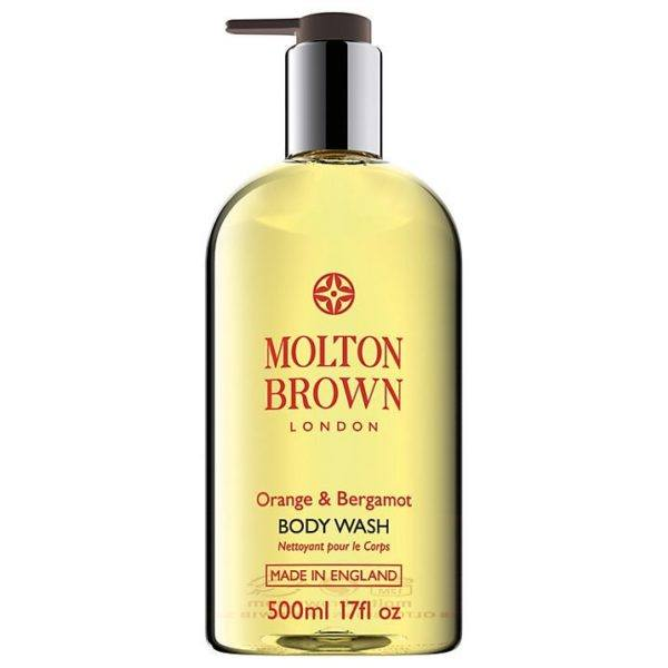 molton brown orange and bergamot body wash