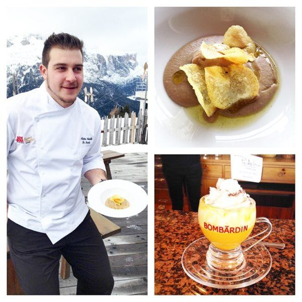 alta badia ski safari mrs o around the world Chef Matteo Metullio